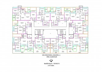 Ved Vihar First Floor Plan 1