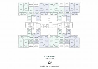 Astonia Royale K & L Building Even Floor Plan