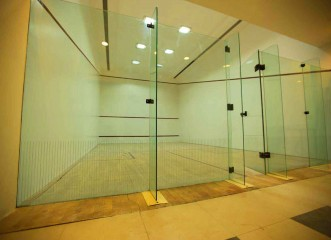 Squash Court at Amit's Bloomfield Ready Possession Bungalows & Villas in Ambegaon, Pune