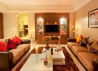 Living Room at Amit's Bloomfield Ready Possession Bungalows & Villas in Ambegaon, Pune