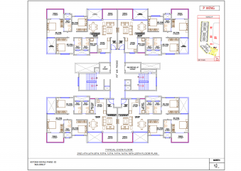 Astonia Royale Even Floor Plan Building P
